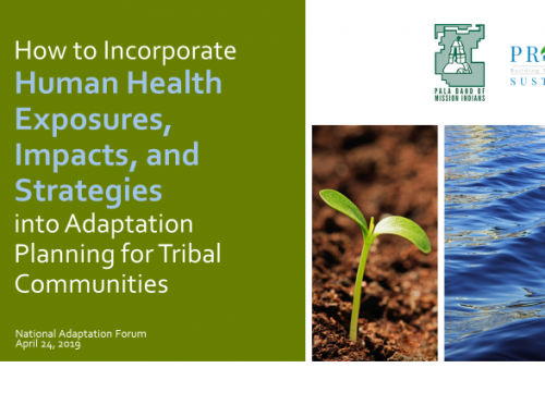 Tribal Climate Health and National Adaptation Forum Tribal Track