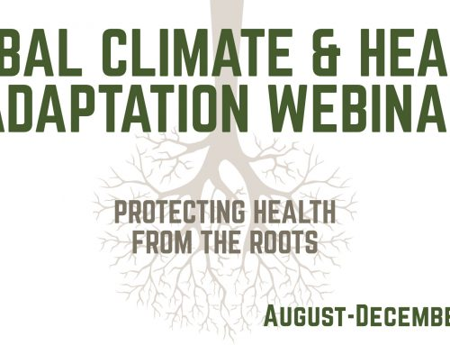 Tribal Climate and Health Adaptation Training Updates