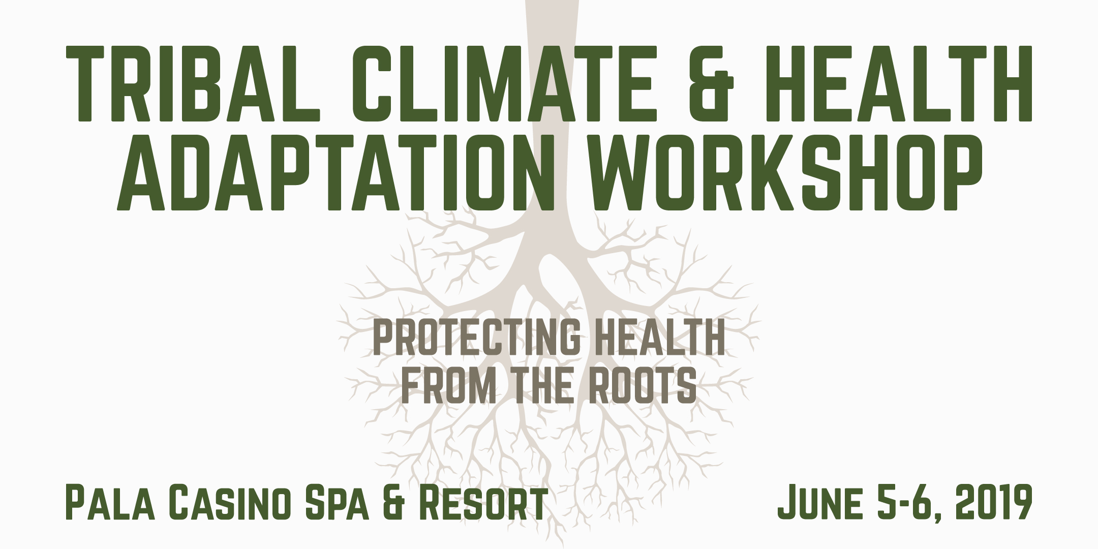 Tribal Climate & Health Adaptation Workshop – June 5-6th